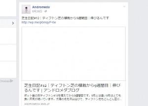 Facebookページ 表示されないURLリンク先